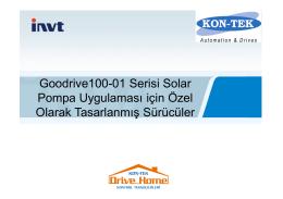 Solar Pompa Sistemi
