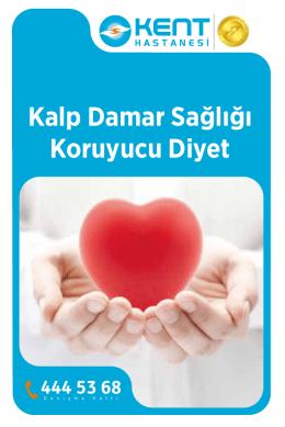Kalp Damar Sağlığı Koruyucu Diyet Broşürü