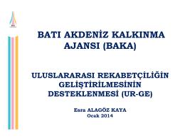 ur-ge destekleri (ocak 2014)