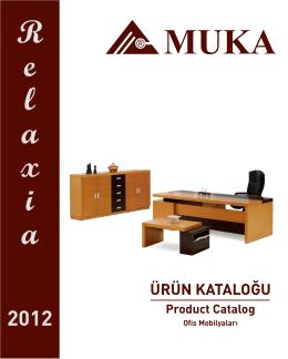 Katalog - MUKA AHŞAP A.Ş.