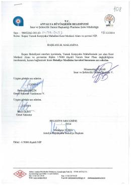TC - Antalya Belediyesi