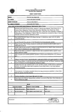 mutemetlik şube müdürlüğü görev tanımları