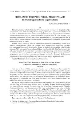 Tam Metin (PDF) - Ekev Akademi Dergisi