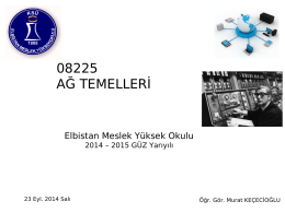 08225 AĞ TEMELLERİ
