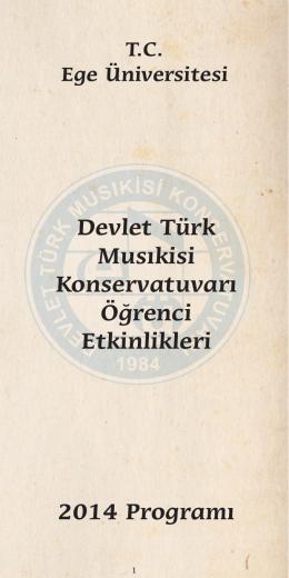 Devlet Türk Musıkisi Konservatuvarı Öğrenci