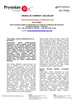 Draka UC Connect 10G Ağlar (pdf)