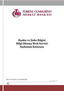 BaŞub OKU Web Servisi - TCMB EFT