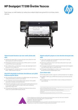 HP Designjet T7200 Üretim Yazıcısı - Hewlett