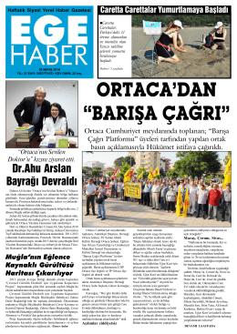 Dr.Ahu Arslan Bayrağı Devraldı