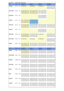 Schedule - Week 08 -