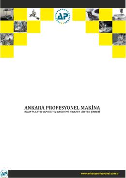 ANKARA PROFESYONEL MAKİNA
