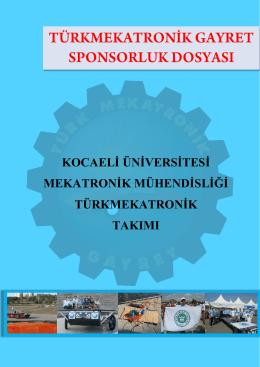 kocaeli üniversitesi mekatronik mühendisliği türkmekatronik takımı