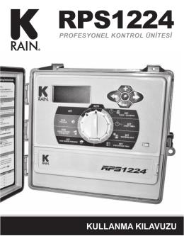 K-Rain RPS1224 Kontrol Ünitesi Kullanma Kılavuzu