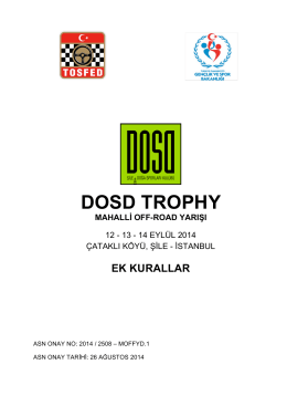 DOSD TROPHY