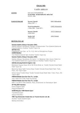Yasin Arıkan CV görüntüle