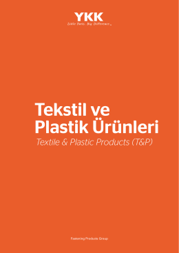 Tekstil ve Plastik Ürünler