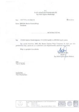 Untitled - yayladağı ilçe millî eğitim müdürlüğü