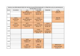 BİLGİSAYAR MÜHENDİSLİĞİ BÖLÜMÜ 2013/2014 BAHAR