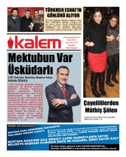 Kalem Gazetesi 45. Sayı