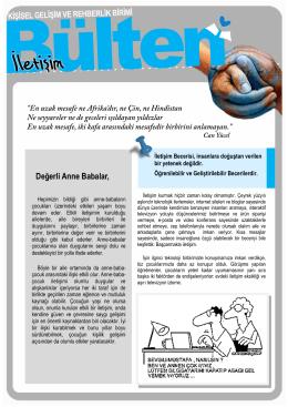 İletişim / Eylül 2014