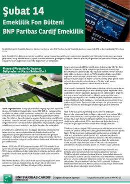 Şubat - BNP Paribas Cardif Emeklilik