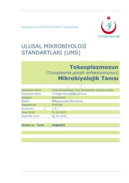Toksoplazmoz - Türkiye Halk Sağlığı Kurumu