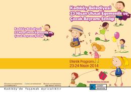 23-24 Nisan 2014 Kadıköy Belediyesi