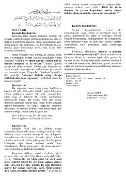 17.01.2014 Söz Adabı