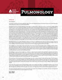 Pulmonology - JournalAgent