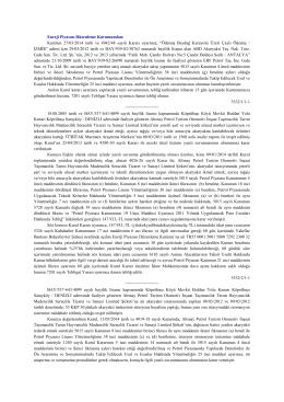 Kurulun 27/03/2014 tarih ve 4942/48 sayılı Kararı