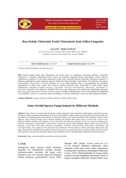 Türkiye Tarımsal Araştırmalar Dergisi