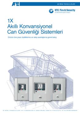 1X Akıllı Konvansiyonel Can Güvenliği Sistemleri