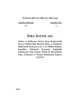652 - Türkiye Büyük Millet Meclisi