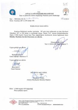 Gündemin 115.Maddesi - Antalya Belediyesi