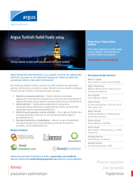 Argus Turkish Solid Fuels 2014