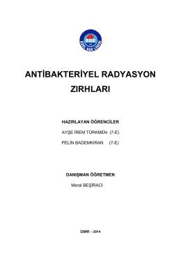 antibakteriyel radyasyon zırhları