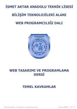 Ders1-Temel_Kavramlar (Ders Notu)