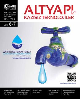 2014 Yıl: 2 Sayı: 6-7 - Kazısız Teknolojiler Türkiye Zirvesi