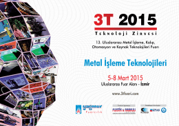 Metal İşleme Teknolojileri
