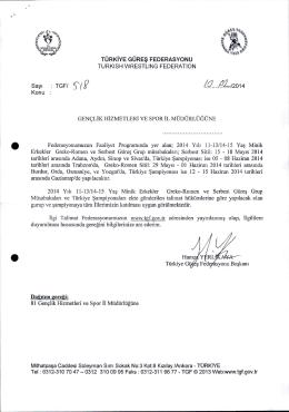 ÿş1 1 1 ( 1 ) - Türkiye Güreş Federasyonu