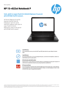 HP 15-r022st Notebook P