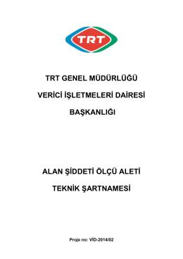Teknik Sartname 2014-166350