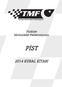 2014 kural kitabı - Türkiye Motosiklet Federasyonu