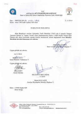 Gündemin 110.Maddesi - Antalya Belediyesi