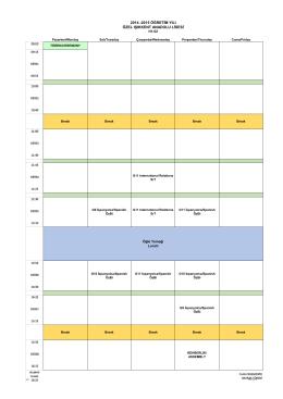 2014 -2015 öğretim yılı özel ışıkkent anadolu lisesi
