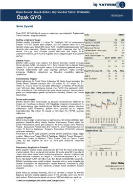 18/09/2014 - İş Yatırım
