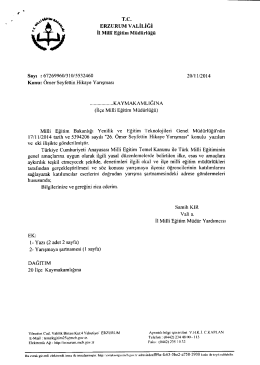 fax \ J - İlçe Milli Eğitim Müdürlüğü
