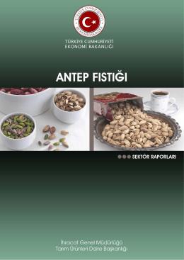 T.C.Ekonomi Bakanlığı - Antepfıstığı Sektör Raporu (PDF)