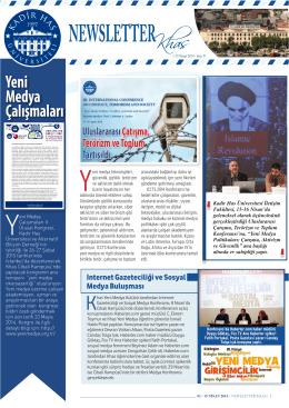 Yeni Medya Çalışmaları - Kadir Has Üniversitesi