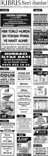 KIBRIS Seri ilanlar